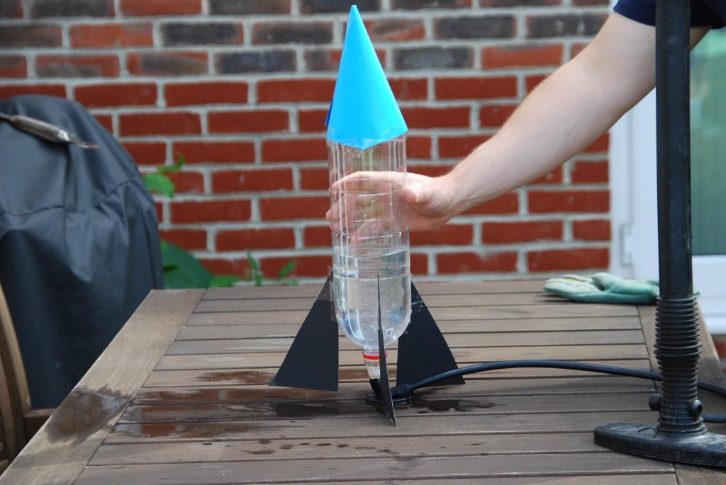 Kids Craft Make Rocket Launcher With Plastic Bottle