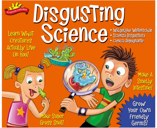 Galt Disgusting Science Review and giveaway