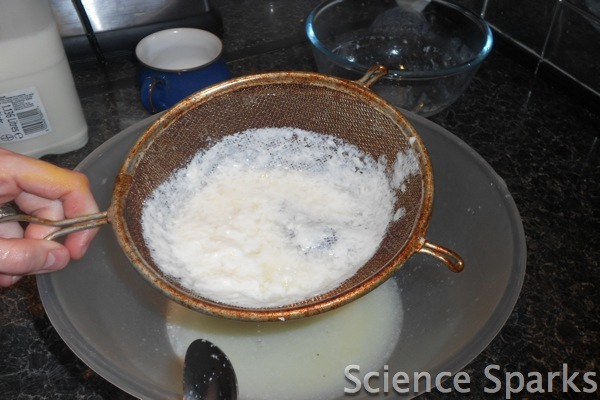 Make plastic milk