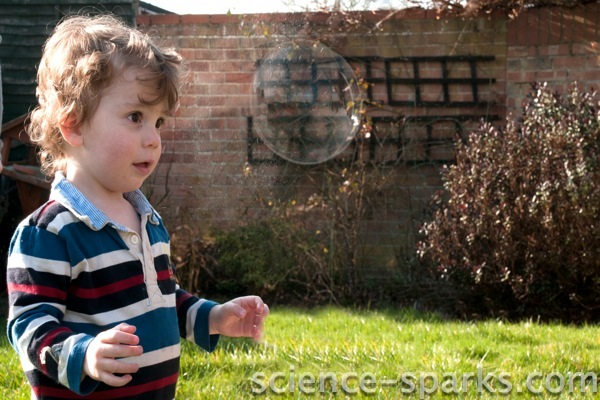 Bubble Fun 1!, Science Sparks