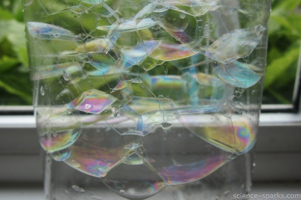 Rainbow Bubbles, Science-Sparks