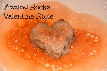 Fizzing Rocks Valentine Style