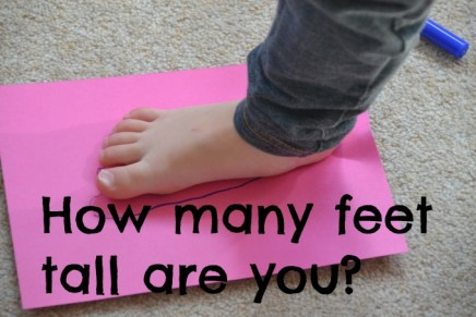 How many feet tall are you?