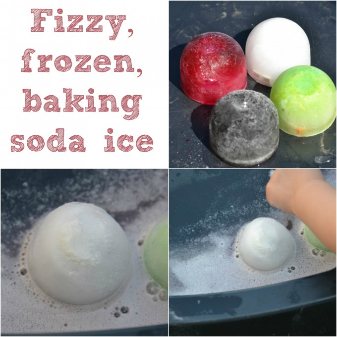 Baking soda ice experiment