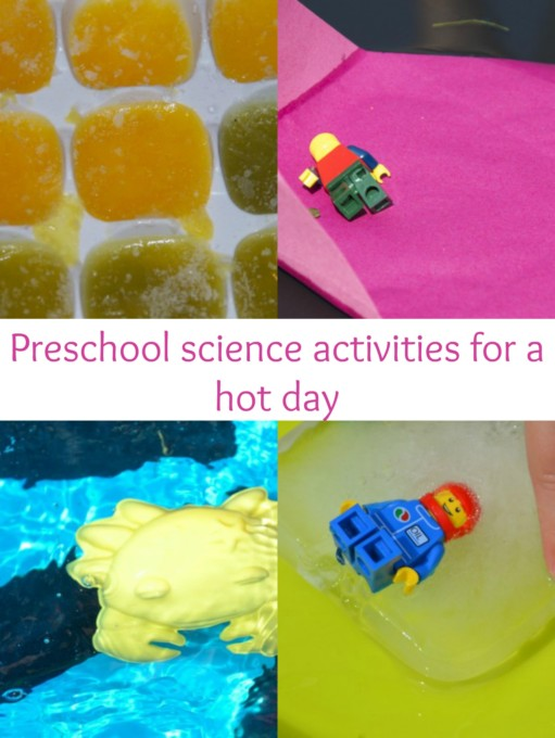 summer science activities for hot days