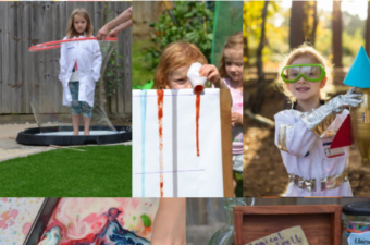 DIY Science Camp - summer science for kids