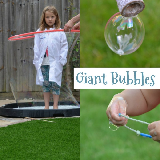 How to make giant bubbles