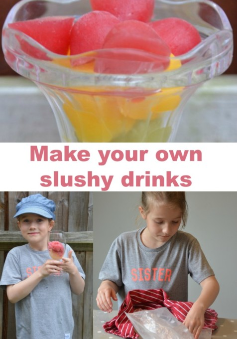 Make your own slushy drink