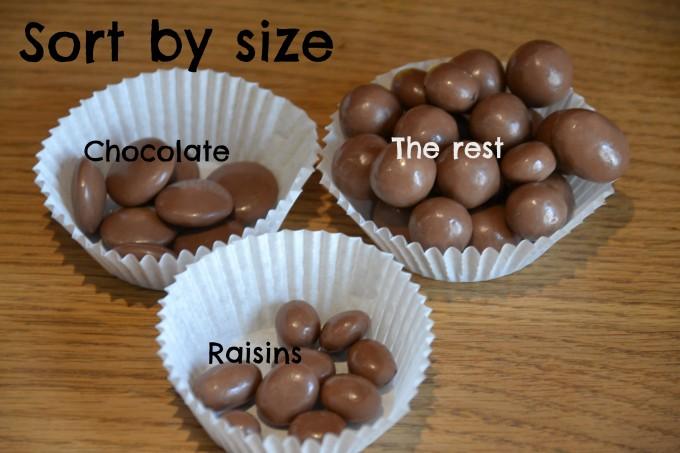 Raisinssize
