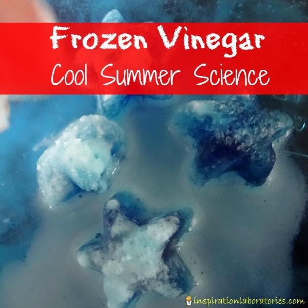 Frozen vinegar