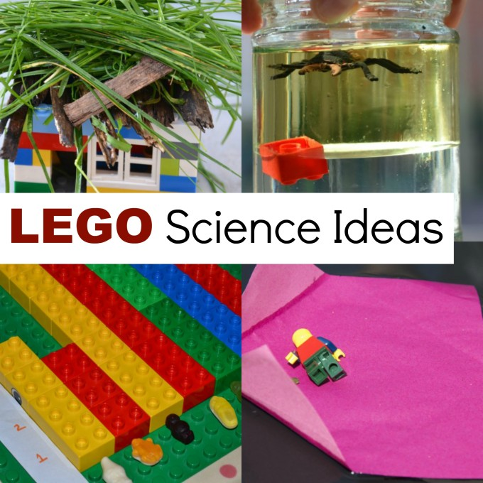 Science ideas using LEGO