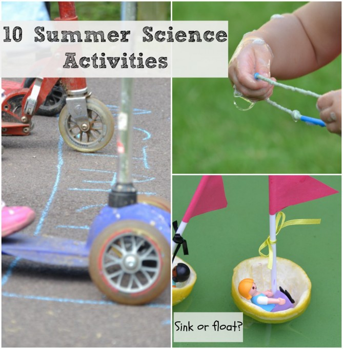 Outdoor Summer science actvities