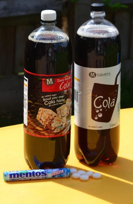 coke and mento
