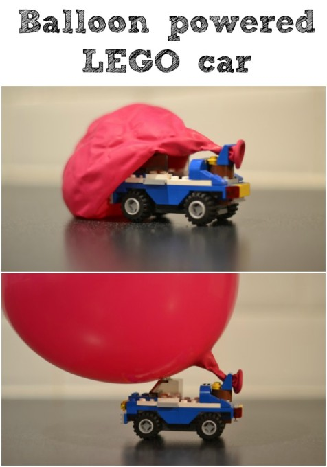 how to make a balloon powered lego car. Black Bedroom Furniture Sets. Home Design Ideas