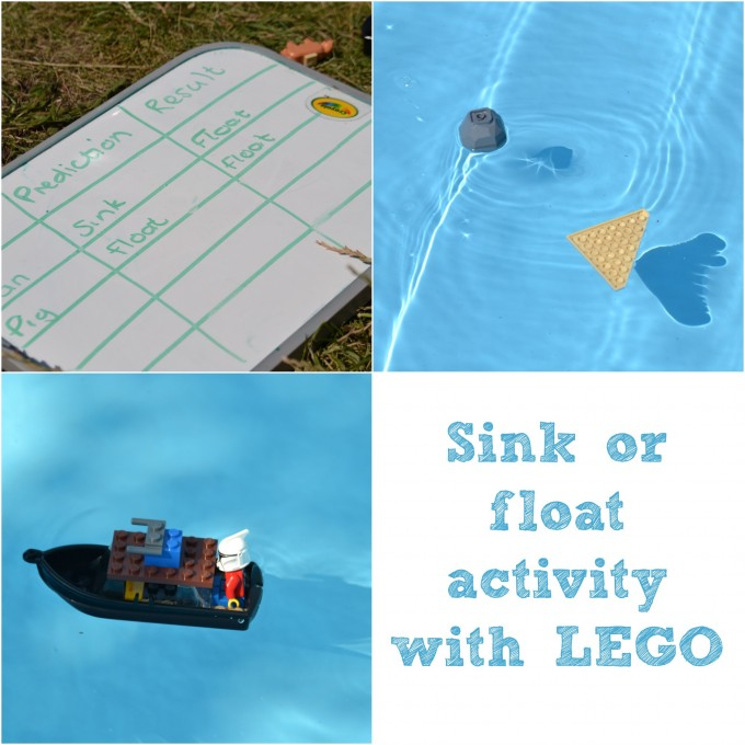 LEgo sinking and floating