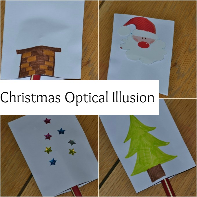 Christmas Optical Illusion