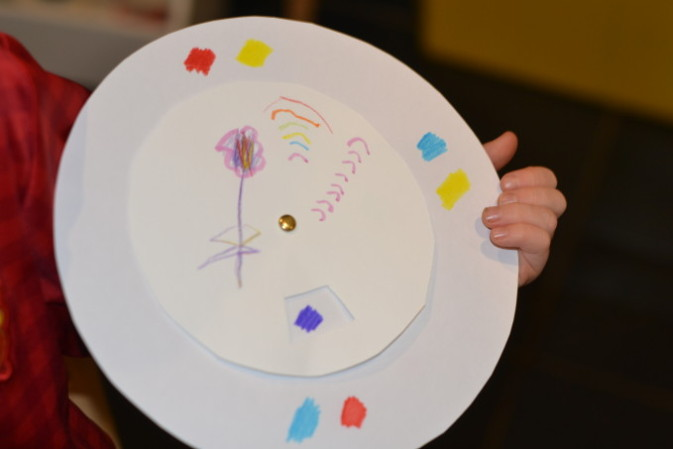 Make your own colour mixing wheel