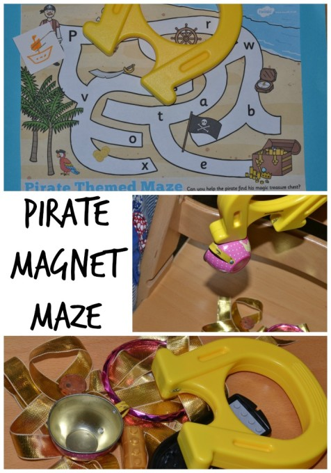 Pirate-magnet-maze