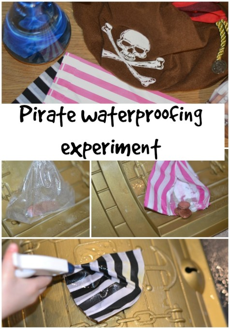 Pirate-waterproof-experiment