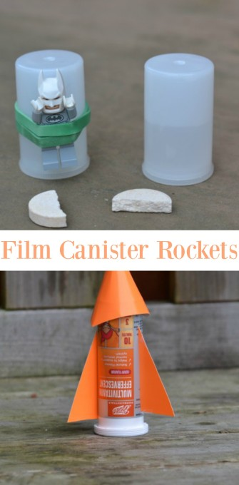 How to make a film Canister rocket