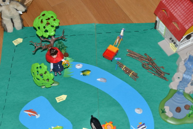 Little Red Riding Hood Activity – map reading and problem solving