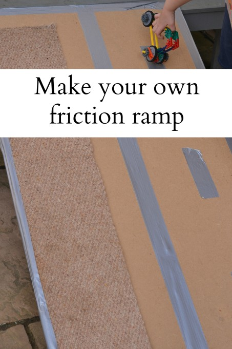 Make Your Own Friction Ramp