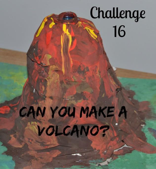 Make a volcano