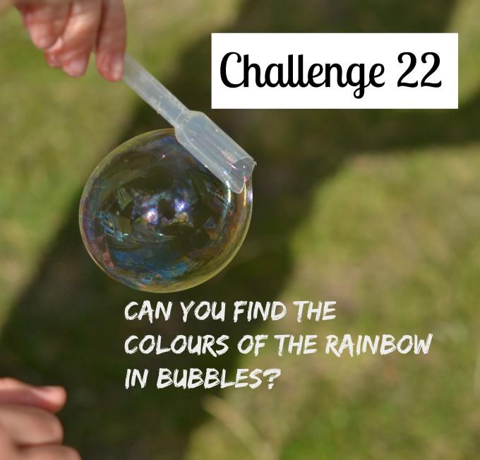 colours in bubbles