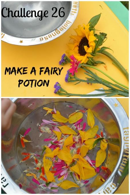 make a fairy potion