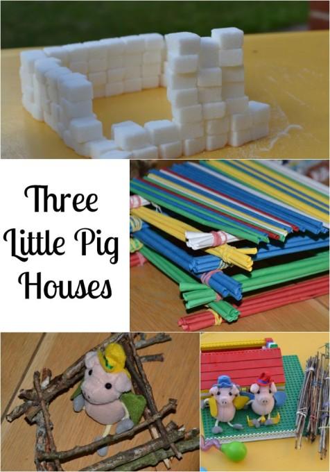 ThreeLittlePigHouses
