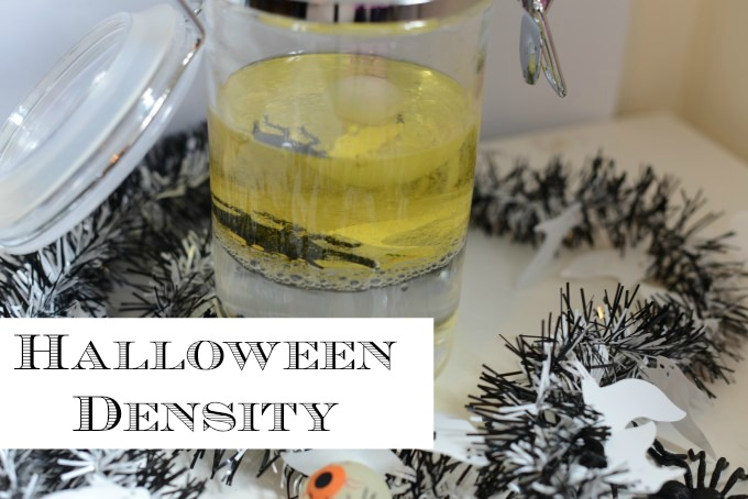 Halloween density experiment