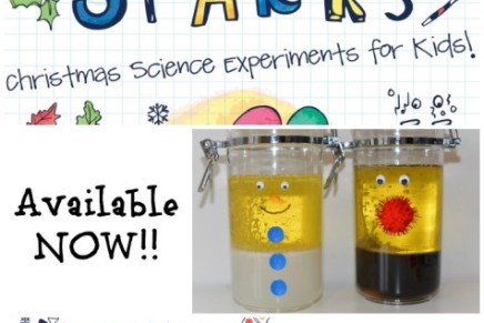 FREE Christmas Science for Kids – Ebook