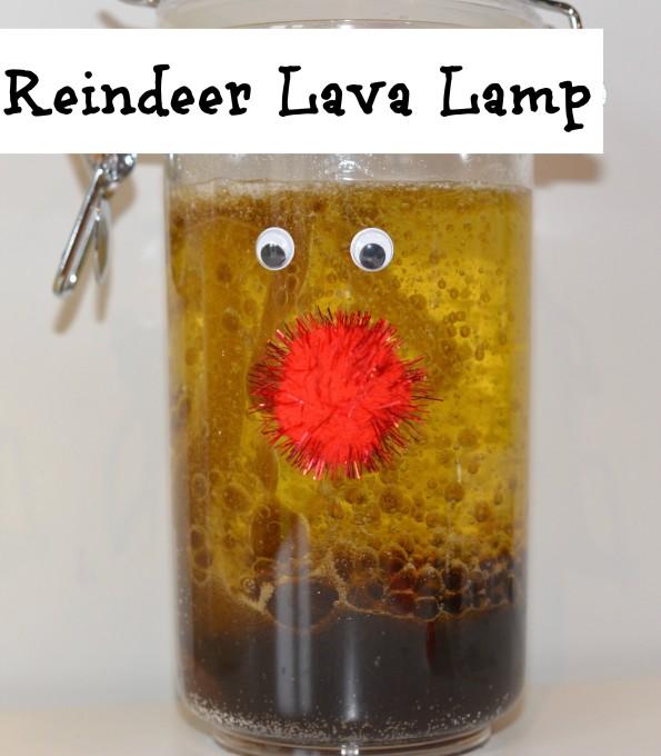 Reindeer Lava Lamp