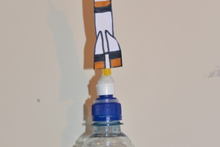 How to make a Squeezy Bottle Rocket