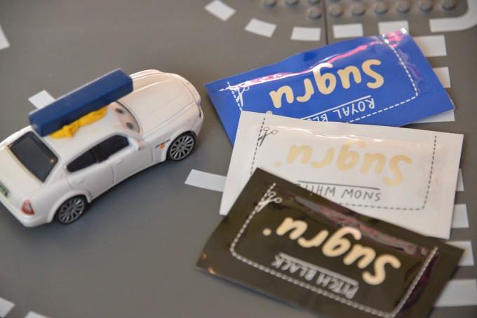 Hacked Racing Toys : Easy magnetic cars sugru hack