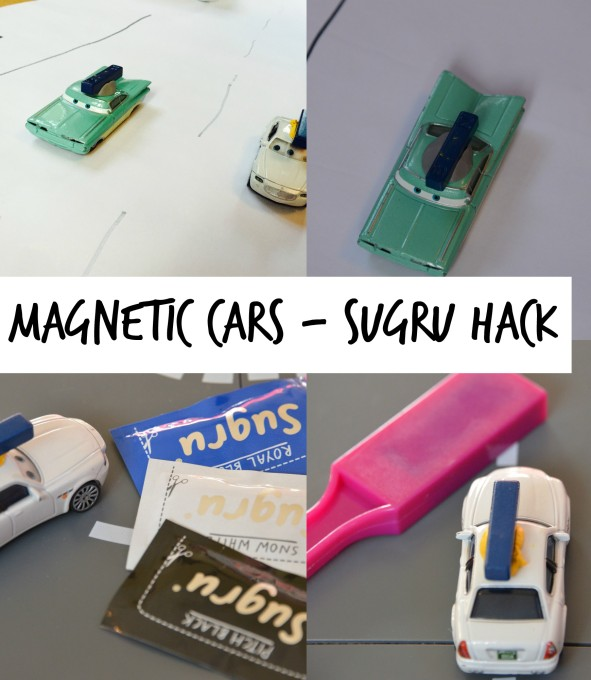 Magnetic-cars-sugru-hack