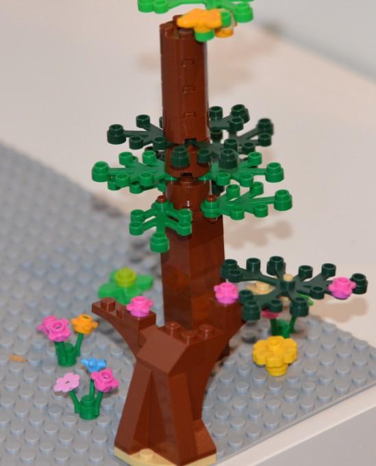 Spring LEGO Tree