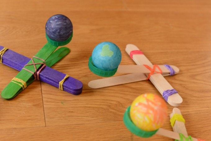 how to make a craft stick catapult