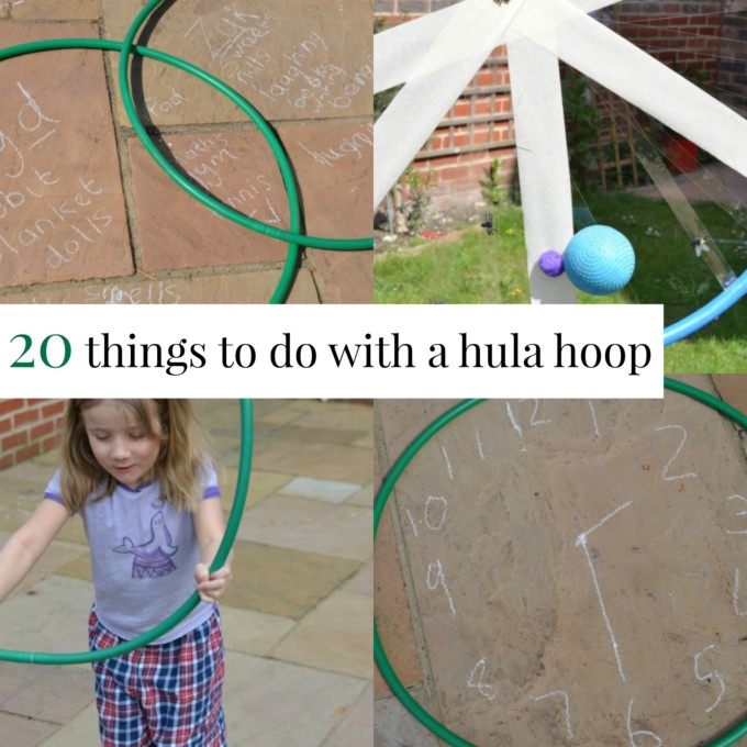 Things to do with a hula hoop