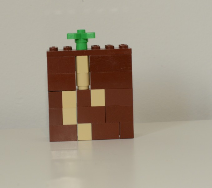 Lego plant growth model