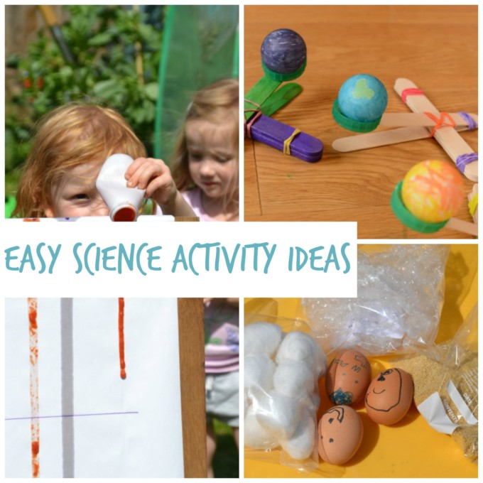 easy science experiments