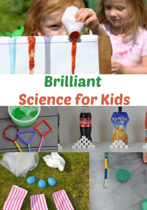 Brilliant science experiments for kids