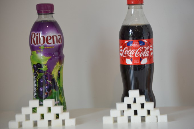 How much sugar in Ribena