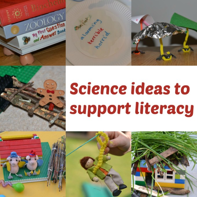 Supporting Literacy with Science