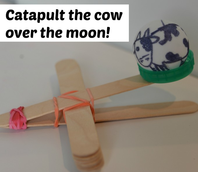 Catapult the cow over the moon