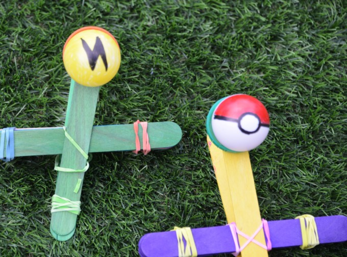 Pokemom catapult
