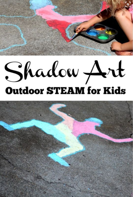 painting shadows