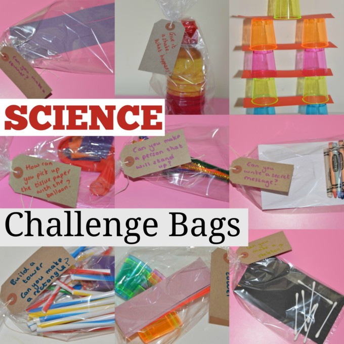 Science challenge bags