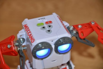 Micronoid Robot from Meccano