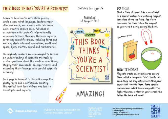 the book that thinks your're a scientist